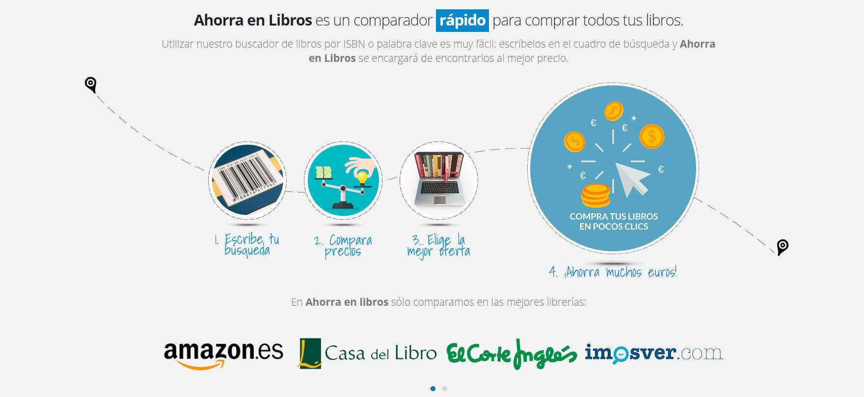 890e74629ca ... ahorrar mucho dinero en los libros escolares. El portal se llama  ahorraenlibros.com y permite comparar un mismo libro en distitnas tiendas  online con ...