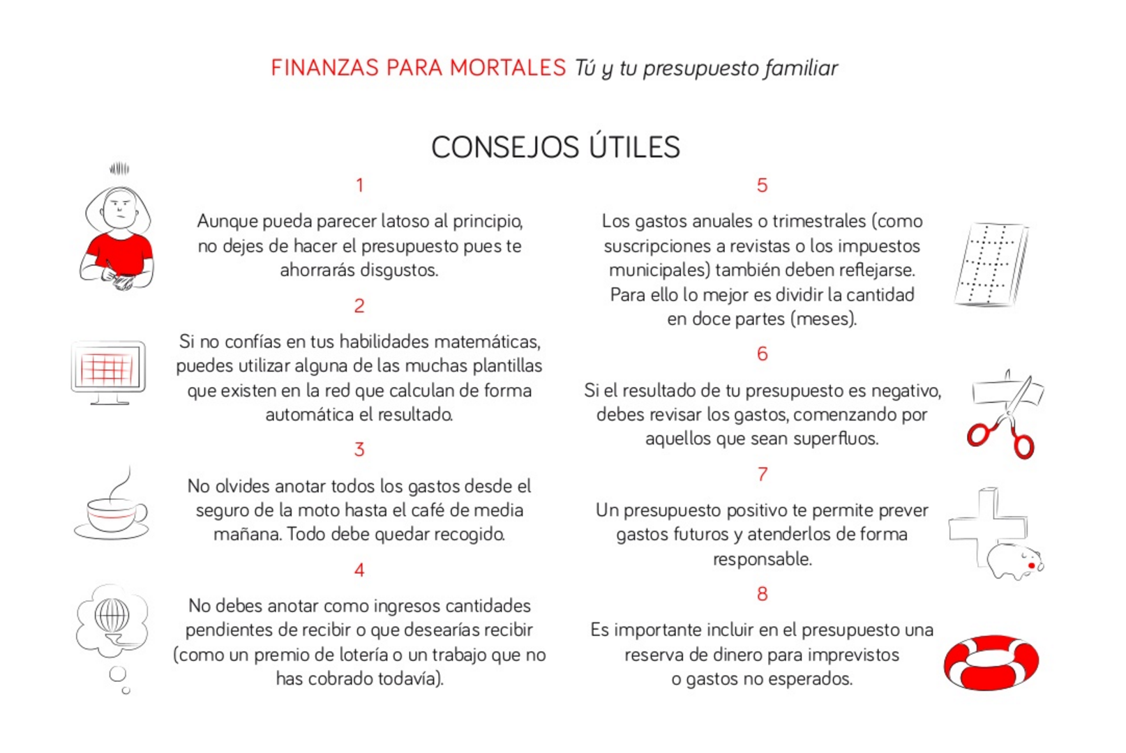 8 consejos prácticos para hacer tu presupuesto familiar | Blog Coinc